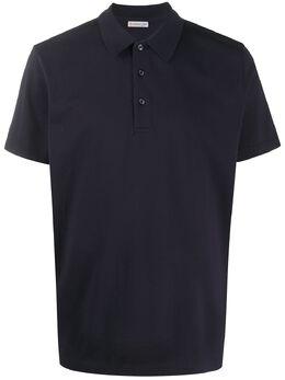 Moncler рубашка-поло прямого кроя 8A7080084673