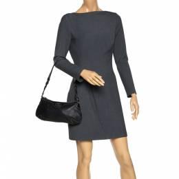 Aigner Black Leather Shoulder Bag 277663