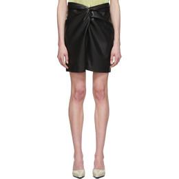 Nanushka Black Vegan Leather Milo Miniskirt W_SK_00100