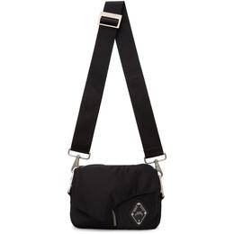 A-Cold-Wall* Black Padded Envelope Crossbody Bag ACWUG012WHL