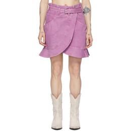 Isabel Marant Pink Roani Skirt JU1158-20E010I