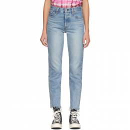 Levi's Blue Wedgie Icon Fit Jeans 22861-0036