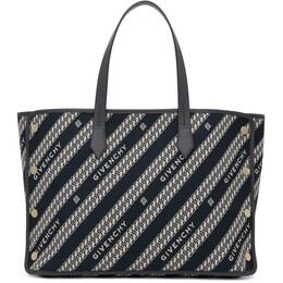 Givenchy Blue Medium Bond Shopper Tote BB50AVB0S0