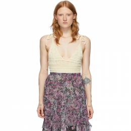 Isabel Marant Off-White Fuzz Bodysuit BD0034-20E037I