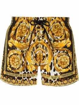 Versace плавки-шорты с принтом Wild Baroque ABU08028A232997