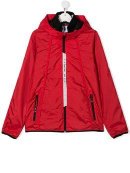 Givenchy Kids куртка с логотипом H26052991