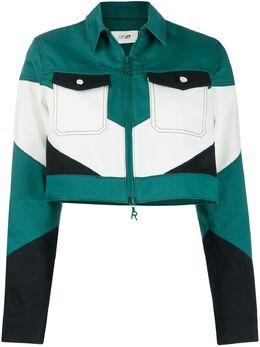 Kirin укороченная куртка в стиле колор-блок KWYE006S20DEN0015700