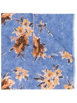 Barba легкий шарф с цветочным принтом SCIASS20