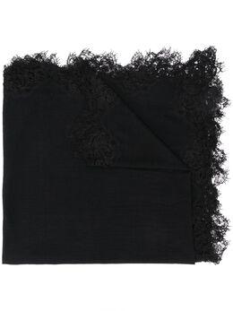 Faliero Sarti легкий шарф с кружевной отделкой E201032ZEYNEP