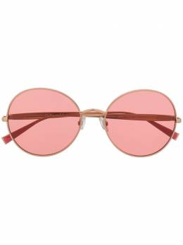 Max Mara солнцезащитные очки Ildev в круглой оправе MMILDEV