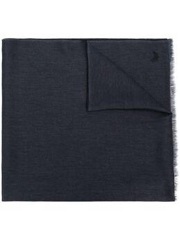 Ermenegildo Zegna шарф с вышитым логотипом Z7L0527C