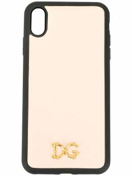 Dolce&Gabbana чехол для iPhone XS с логотипом DG BI2515AX121