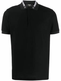 Fendi рубашка-поло Karligraphy FAF572AAYD