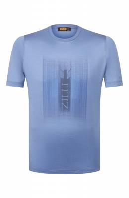 Хлопковая футболка Zilli MET-NT320-SHAD1/MC02