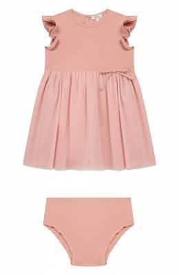 Комплект из платья и шорт Aletta RW00281/3A-6A