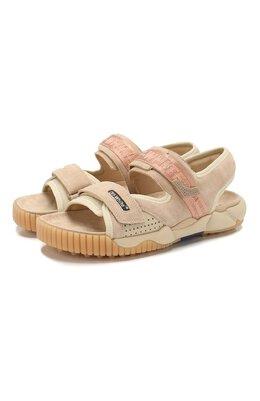 Замшевые сандалии Off-White 0MIA169S207800204800