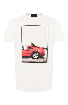Хлопковая футболка Limitato HANG L00SE/T-SHIRT