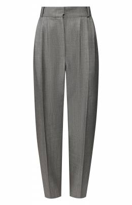 Шерстяные брюки Alexander McQueen 621533/QJABD