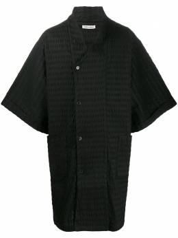 Henrik Vibskov пальто Cliff Hanger из сирсакера SS20M213