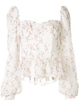 We Are Kindred блузка-бюстье Alice с цветочным принтом KIN1509