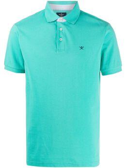 Hackett рубашка-поло с вышитым логотипом HM562590