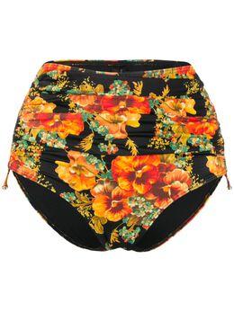 Marlies Dekkers плавки бикини Rio с цветочным принтом и сборками 19975