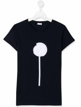 Il Gufo футболка с цветочным принтом P20TS244M0014