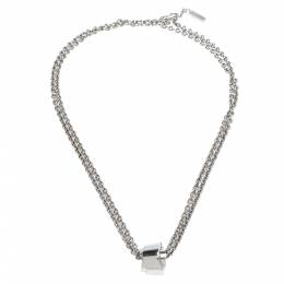 Montblanc Profile Collection Silver Wish Pendant Necklace 278424