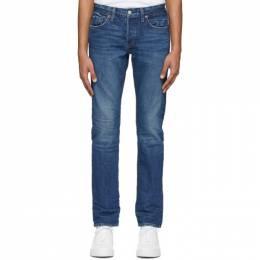 Re/Done Blue Slim Fit Jeans 301-3MSLM