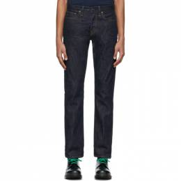 Re/Done Indigo Slim-Fit Jeans 300-3MSLM