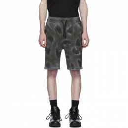 1017 Alyx 9Sm Black Dyed Pattern Shorts AAMSO0019FA01BLK0001