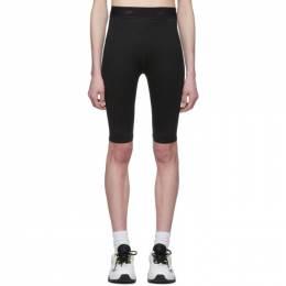 MSGM Black Biker Shorts 2845MDB02 207234