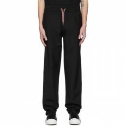 Burberry Black Wool Lounge Pants 8028530