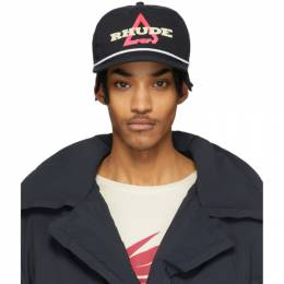 Rhude Black Logo Hat RHU06PS20096