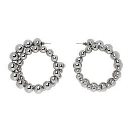 Simon Miller Silver Ram Hoop Earrings S761-8007