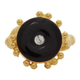 Marni Gold Metal Ring ANMV0060A0 M2000