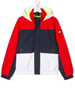 Tommy Hilfiger Junior куртка в стиле колор-блок KB0KB05588