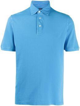 Fedeli однотонная рубашка-поло 3UEF0102BA