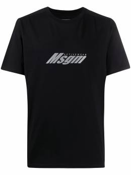 MSGM футболка с принтом 2845MM04207228