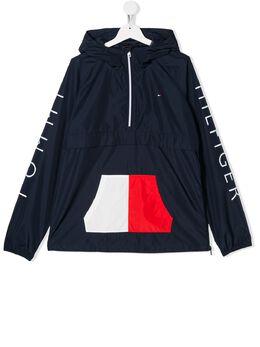 Tommy Hilfiger Junior куртка с логотипом KS0KS00111