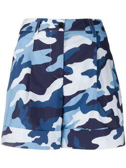 P.a.r.o.s.h. шорты чинос с камуфляжным принтом CRAVD210075