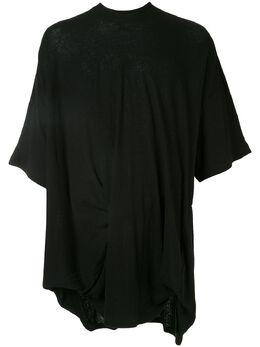 Julius футболка свободного кроя в рубчик 697CUM7