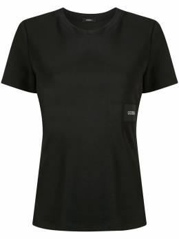 Goen.J футболка с нашивкой-логотипом GJ20SST16