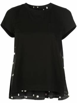 Sacai футболка в горох 2005072
