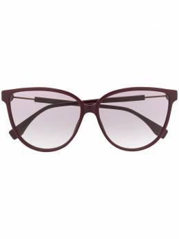 Fendi Eyewear солнцезащитные очки в оправе 'кошачий глаз' FF0345S