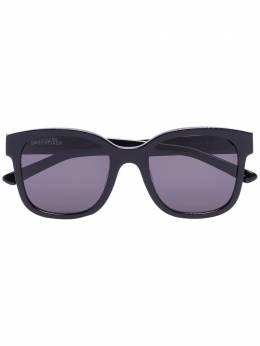 Balenciaga Eyewear солнцезащитные очки в массивной оправе BB0076SK