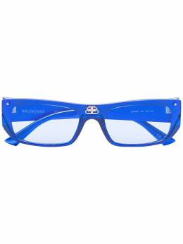 Balenciaga Eyewear солнцезащитные очки в прямоугольной оправе BB0080S