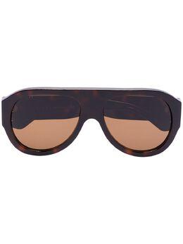Gucci Eyewear солнцезащитные очки-авиаторы GG0668S