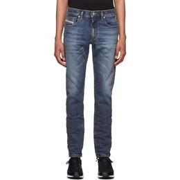 Diesel Blue D-Strukt Washed Jeans 00SPW5 009AR