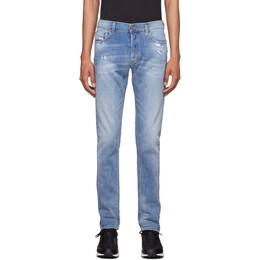 Diesel Blue Tepphar-X Jeans 00SWID 009BU